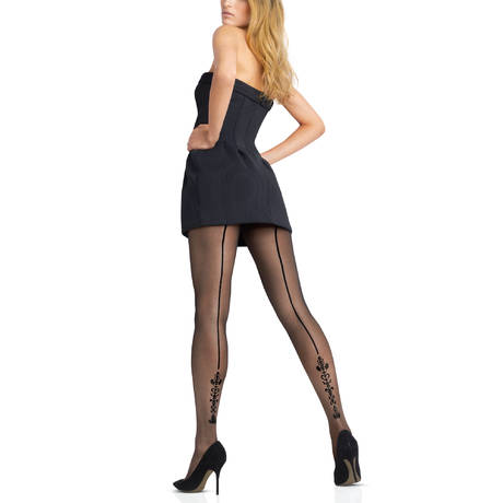 Collant Select 20D Couture Noir