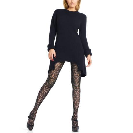 LE BOURGET Collant 40 deniers Exquis Couture Noir
