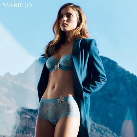 MARIE JO Soutien-gorge armatures emboîtant Angelina Delphi Blue