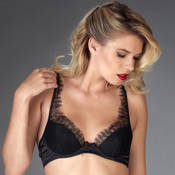 Soutien-gorge push-up dentelle Maison Close Villa Satine