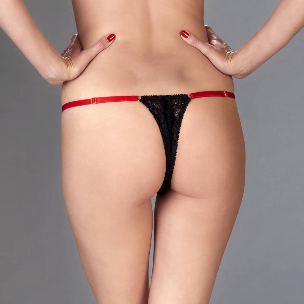 MAISON CLOSE String ouvrable Armée des Sens Noir/Rouge