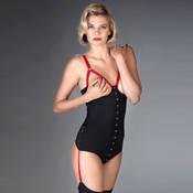 Body string seins nus porte-jarretelles Maison Close Armée des Sens