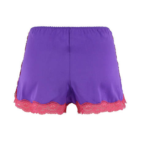 Shorty en soie Les Intemporels Purple Azalae