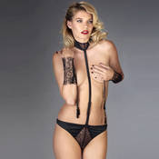 Harnais lingerie Maison Close Villa Satine