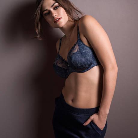 Soutien-gorge armatures emboîtant Gracious Blue Noir