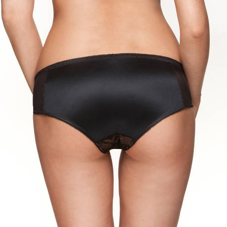 GOSSARD Culotte Retrolution VIP Noir/Nude