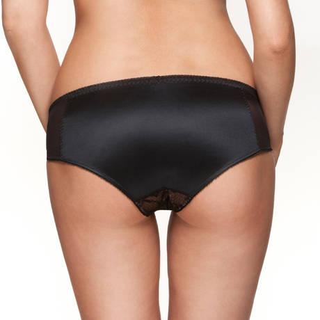 Culotte Retrolution VIP Noir/Nude