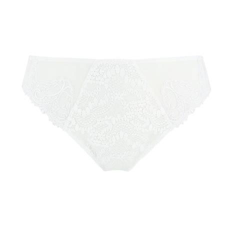 Slip fantaisie Cristal de Roche Blanc