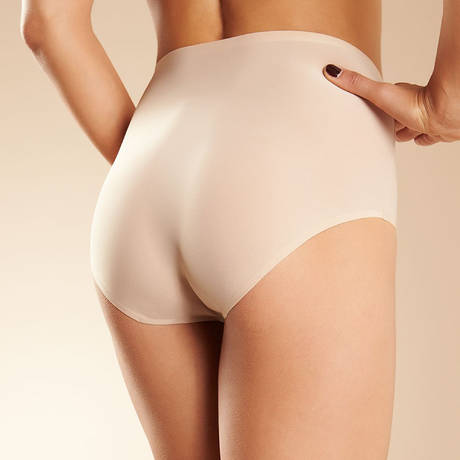 Culotte haute Soft Stretch Nude