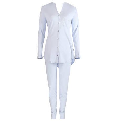 Pyjama en coton Pure Essence Blue Glow