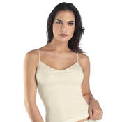 Top fines bretelles en coton Hanro Cotton Seamless