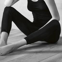 Leggings en soie Hanro Pure silk