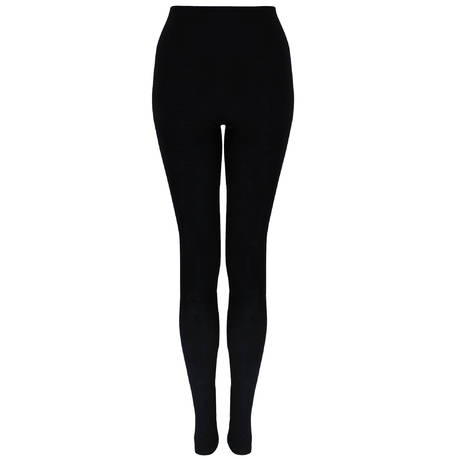 Leggings en soie Pure silk Noir