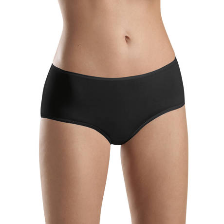 HANRO Shorty Cotton Sensation Noir