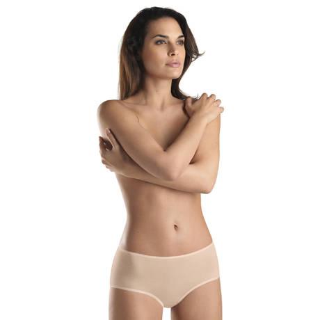 HANRO Shorty Cotton Sensation Nude