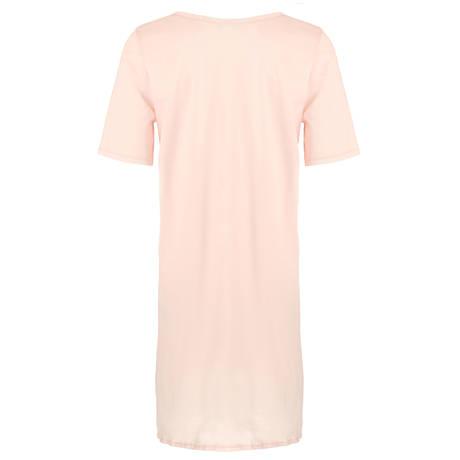 HANRO Chemise de nuit en coton Cotton Deluxe Rose