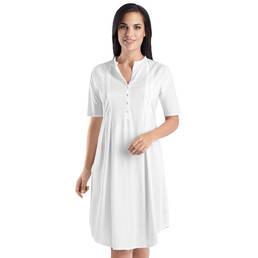 Chemise de nuit en coton Hanro Cotton Deluxe