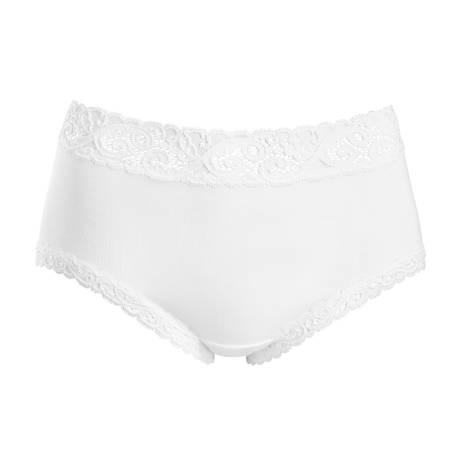 HANRO Culotte en coton Moments Blanc