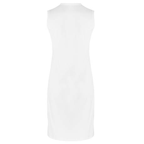 HANRO Chemise de nuit sans manches en coton Cotton Deluxe Blanc