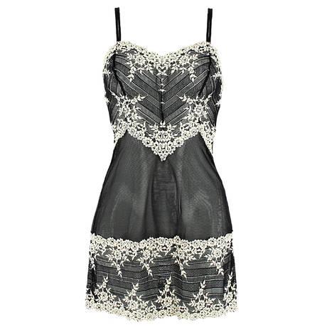 WACOAL Nuisette Embrace Lace Noir/Blanc