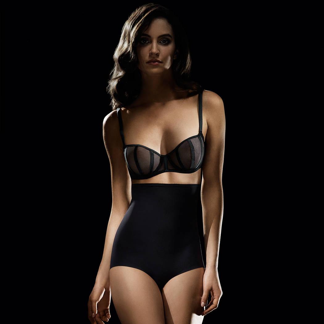 IMPLICITE Culotte haute sculptante Confidence Noir