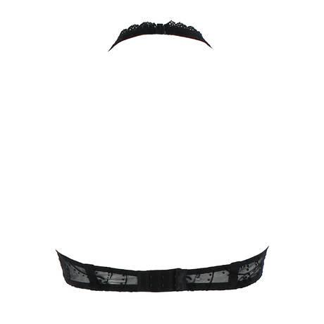 Soutien-gorge à armatures triangle Jolie Muse Noir