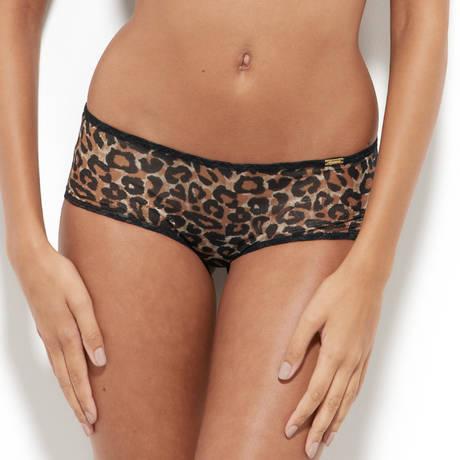GOSSARD Shorty Glossies Leopard Léopard