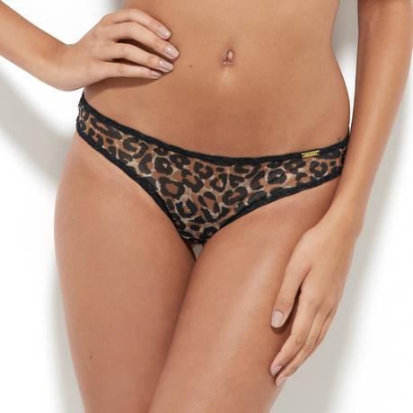 GOSSARD String Glossies Leopard Léopard