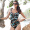 MIRACLESUIT Java Jumble Maillot de bain 1 pièce Escape gainant multicolore