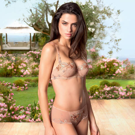LISE CHARMEL Shorty Lodge En Fleurs Lodge Savane