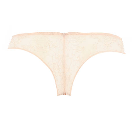 CHANTAL THOMASS Tanga Tombeuse Beige/Noir