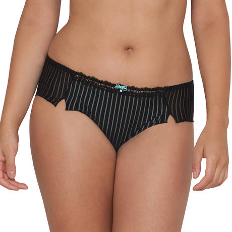 CURVY KATE Shorty Ritzy Noir/Turquoise