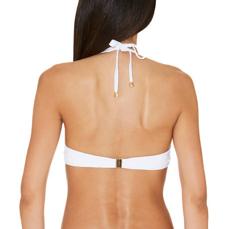 Maillot de bain push-up coques Glam Cocktail Blanc