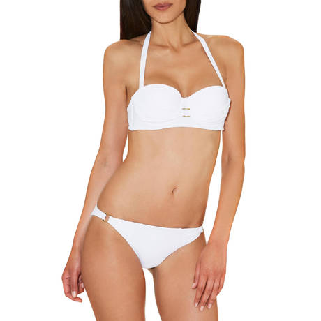 Maillot de bain Mini-Coeur Glam Cocktail Blanc