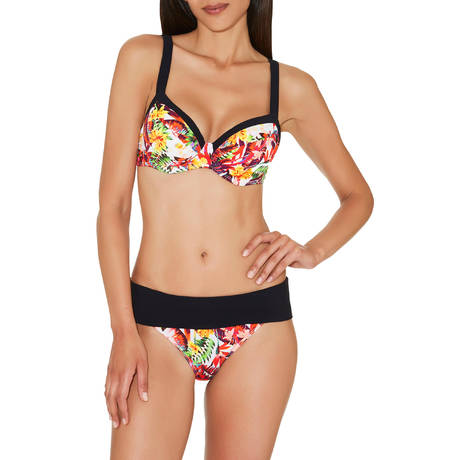 AUBADE Maillot de bain tee-shirt bra Summer Lounge Exotic