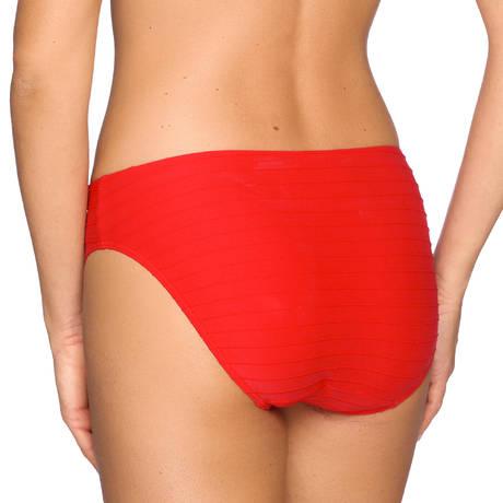 Maillot de bain slip brésilien Sherry True Red