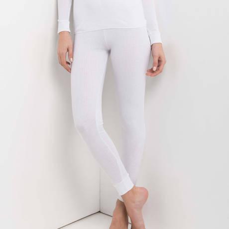 OSCALITO Legging en coton Termotex Blanc