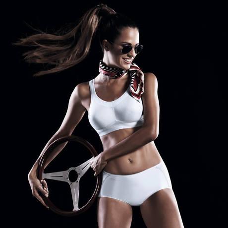 Brassière sport Momentum Blanc