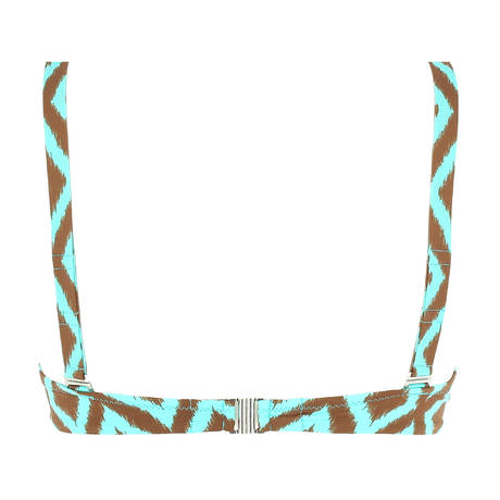 ANTIGEL Maillot de bain triangle La Botswana Chocolat Turquoise