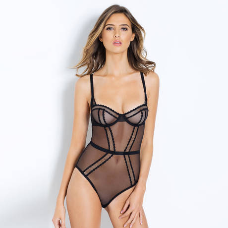 L'AGENT BY AGENT PROVOCATEUR Body Adah Noir