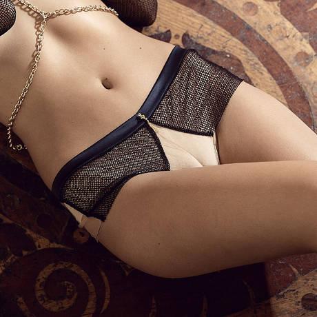 LES JUPONS DE TESS Shorty Scarlett Noir