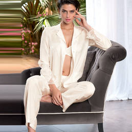 Pyjama en soie Lise Charmel Orchid Paradis