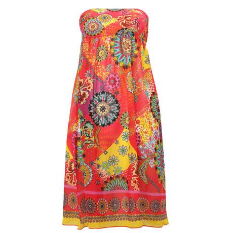 ANTIGEL Robe de plage La Samarkand Yantra Rose