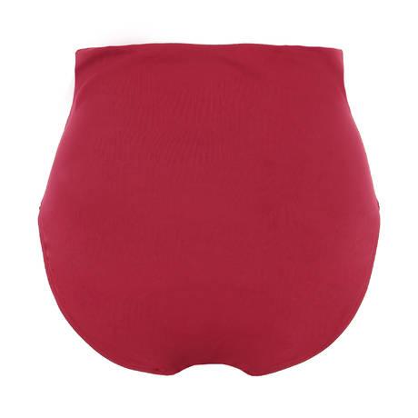 Maillot de bain culotte haute Cyclade Rouge