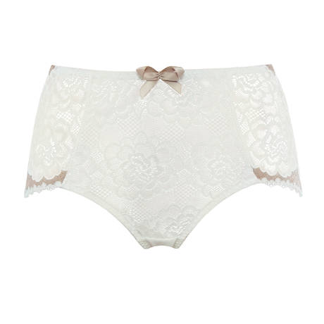 Culotte haute Byzance Ivoire/Taupe