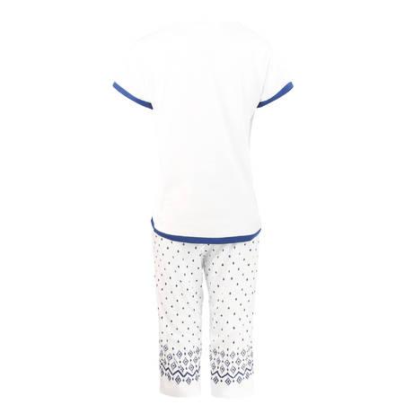 CANAT Pyjama Inca4 Blanc/Bleu