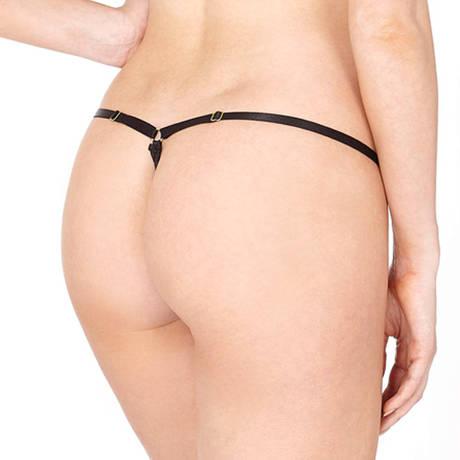 BORDELLE String Nami Noir