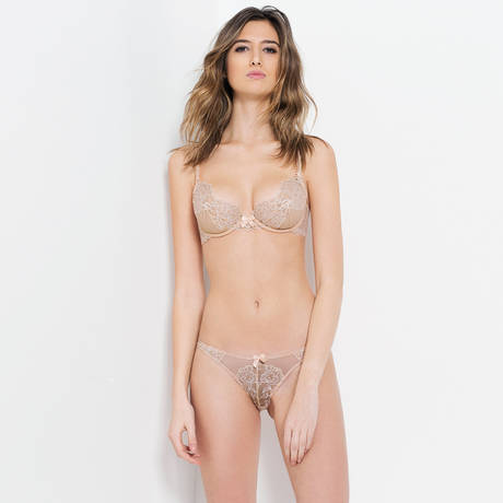 L'AGENT BY AGENT PROVOCATEUR Soutien-gorge triangle Angelica Nude