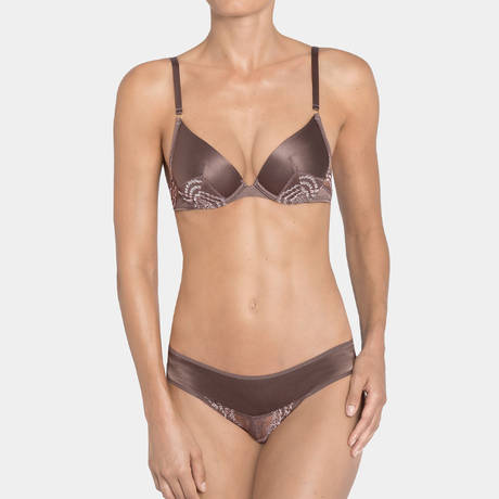 Soutien-gorge push-up Essence Luxe Taupe