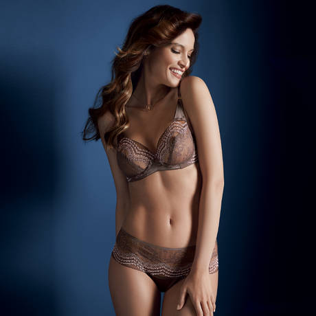 Soutien-gorge armatures Essence Luxe Taupe